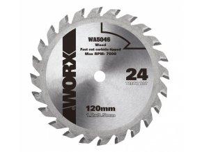 WA5046 - Kotouč na dřevo 120x9,5 pro WX427