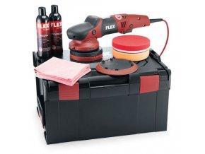 XFE 7-15 150 P-Set Excentrická leštička  + Sleva 10% na produkty FLEX + 3 roky záruka + Příslušenství a kufr v ceně