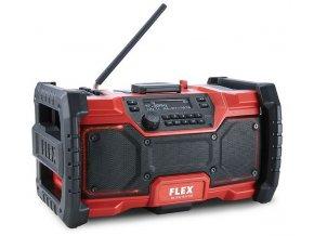 RD 10.8/18.0/230 Digitální AKU stavební rádio 10,8V / 18V  + Sleva 10% na produkty FLEX + 3 roky záruka