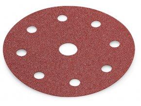 Brusný papír na suchý zip PURFLEX Ø 125 mm (50 ks/bal)