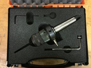 Upínací pouzdro ROTAQUICK (rychloupínací systém korunek), s upínáním na kužel MK3 - BAZAR