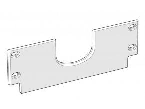vertikální vodící deska pro úkosovací stroj UZ50