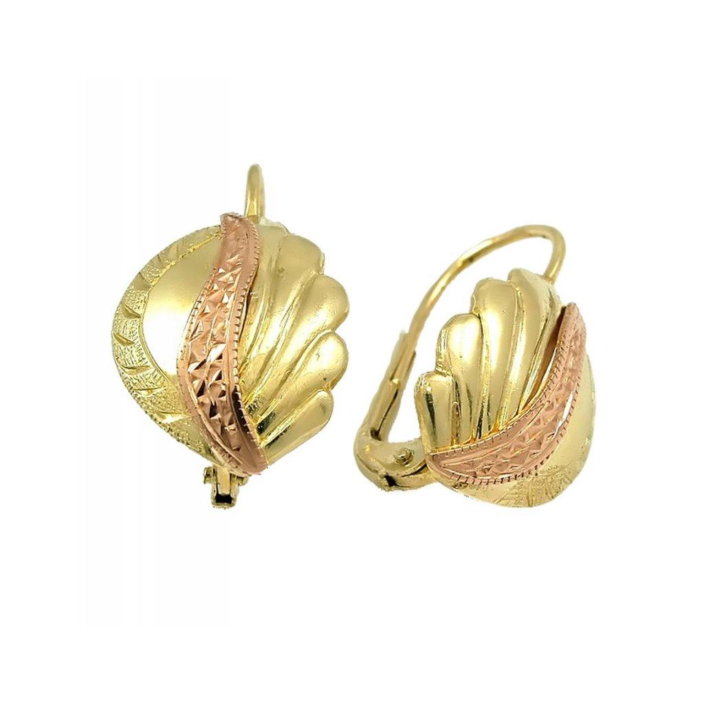 exkluzívne zlaté náušnice