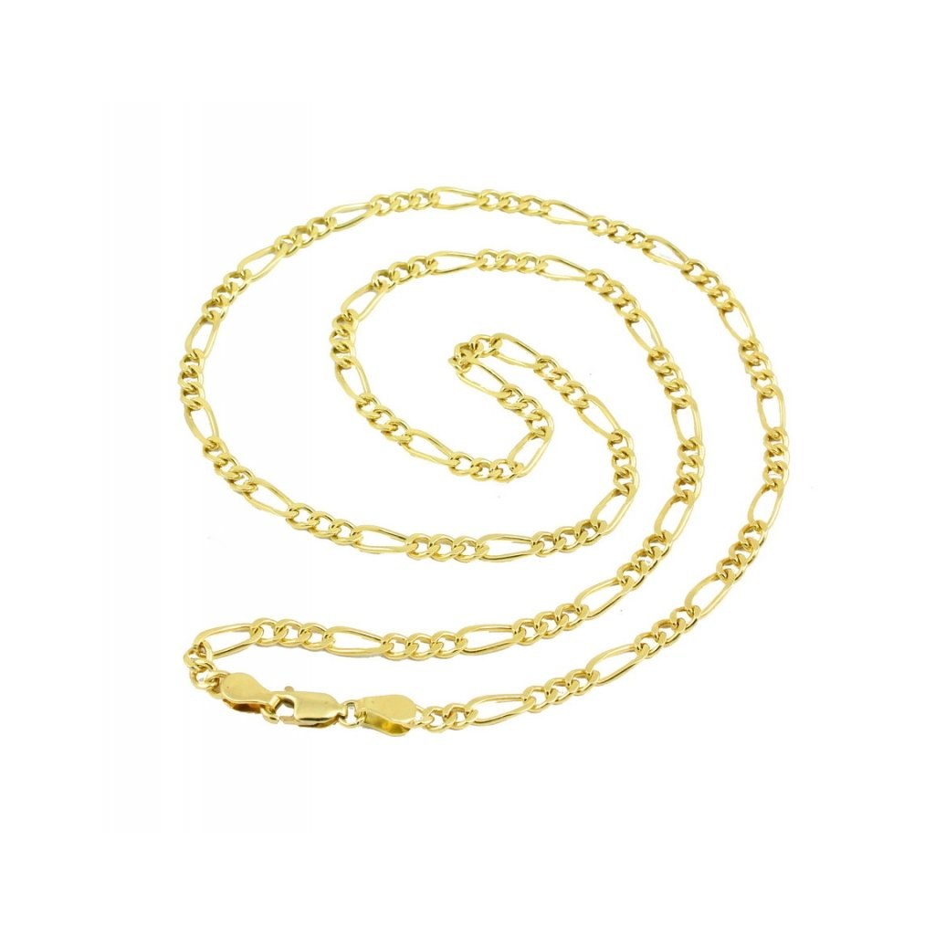 Zlata retiazka figaro 2808Z08