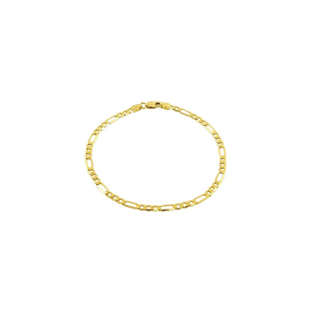 Pekný zlatý náramok 2590Z