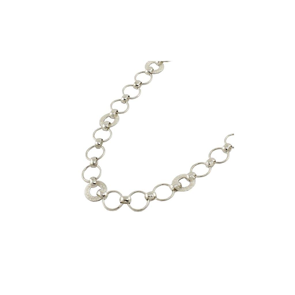 náhrdelník z bieleho zlata
