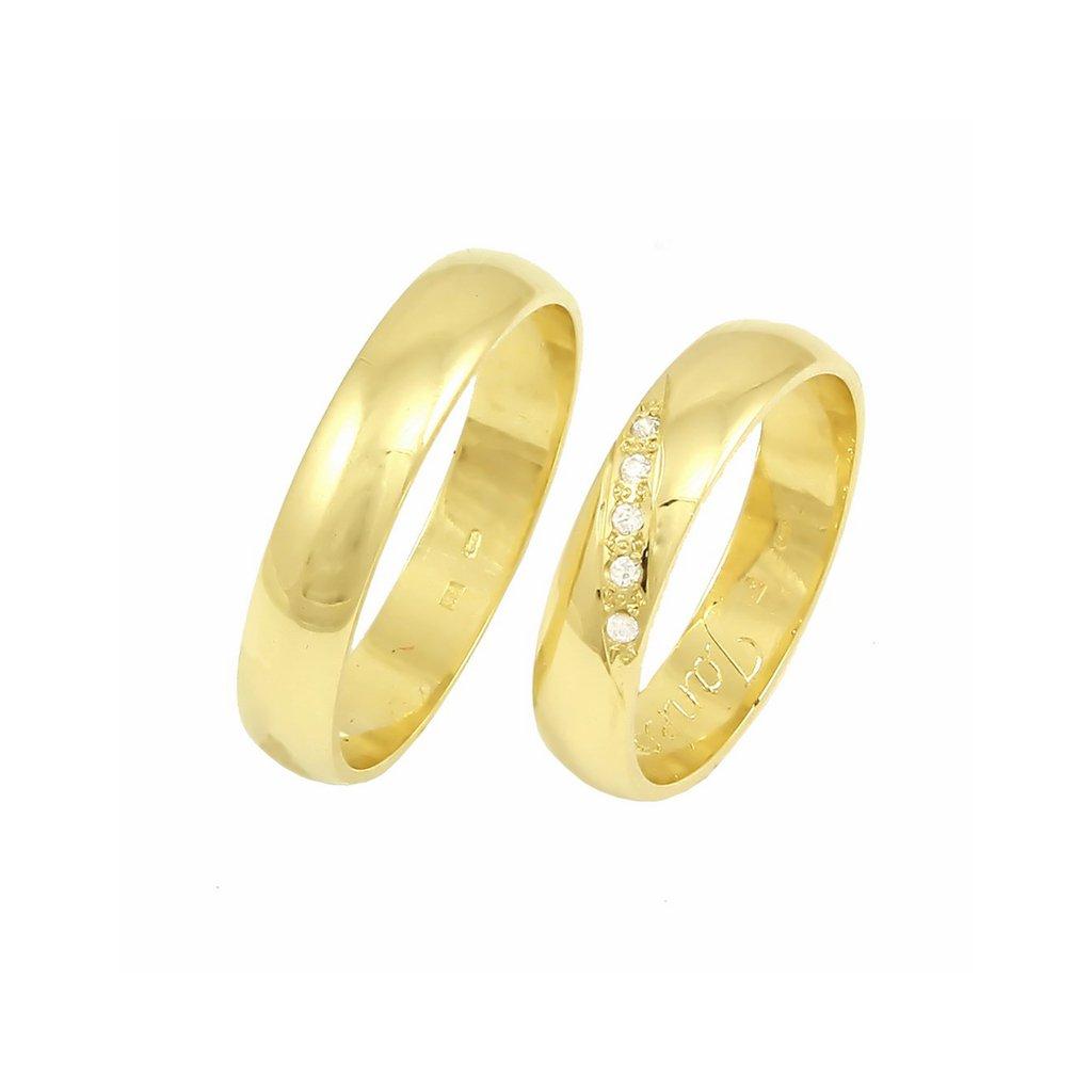 2014046 zlaté svadobné obrúčky