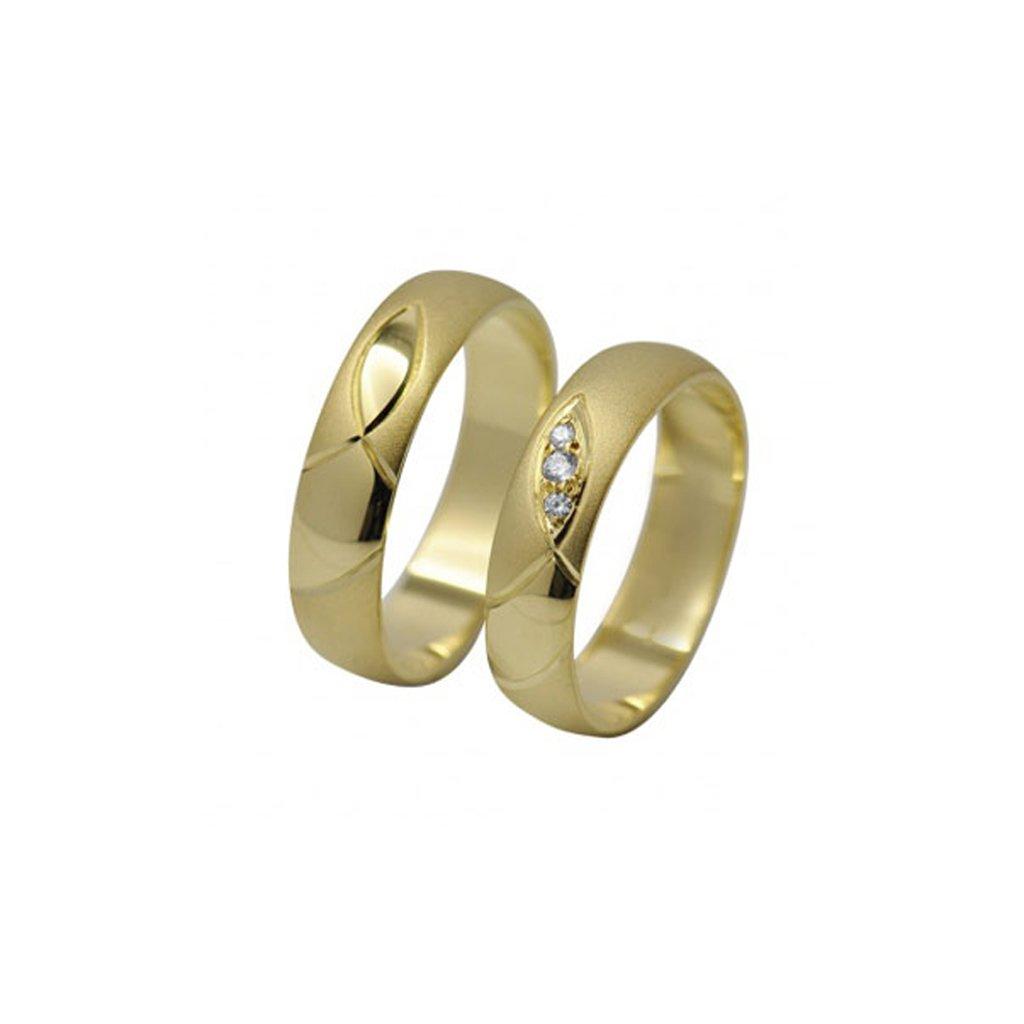 2014049 svadobné obrúčky - ichtys