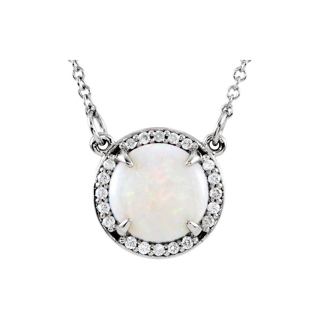 elegantný opálový prívesok 85906