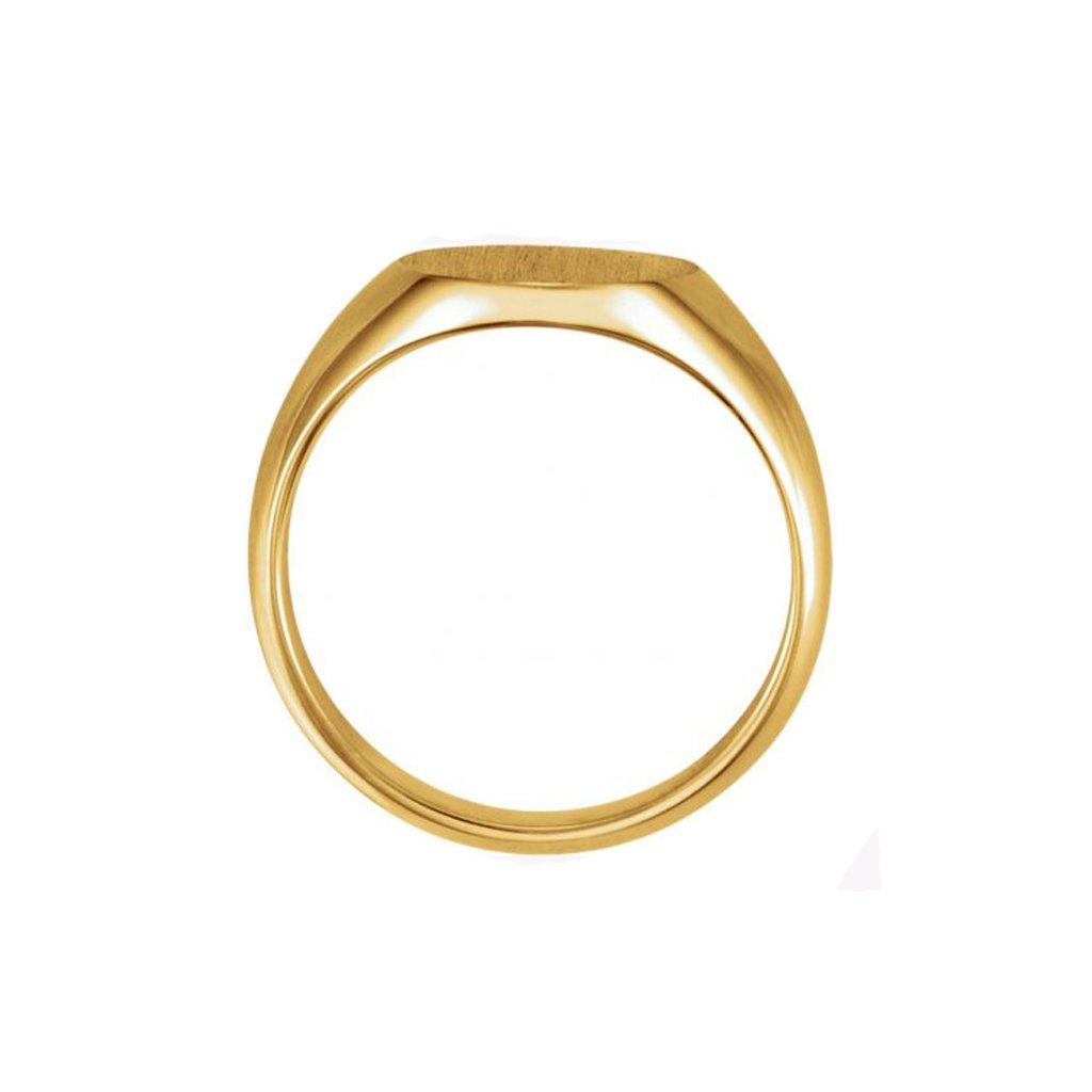 Pánsky pečatný prsteň zo zlata 5543