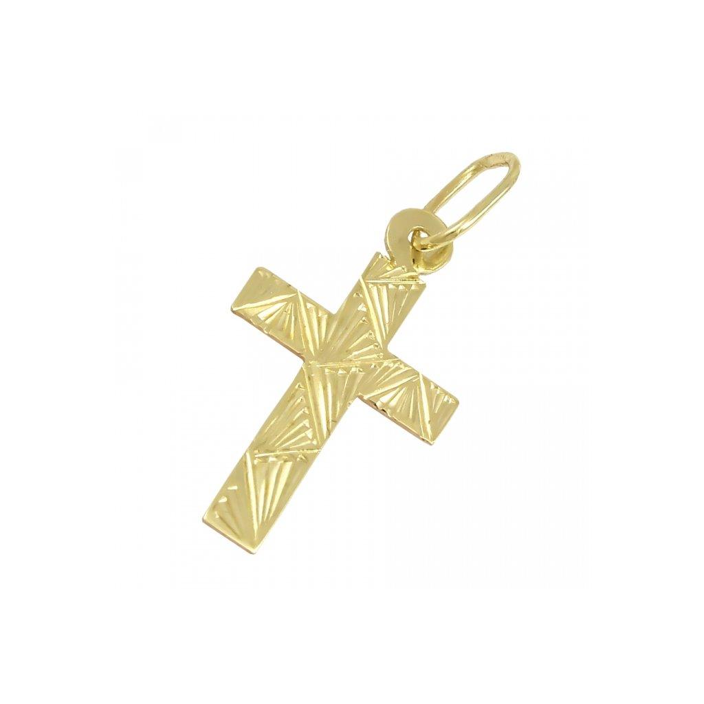 Zlatý privesok križik 2473-2Z