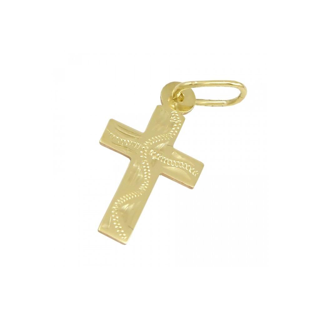 Zlatý privesok križik 2472-6Z