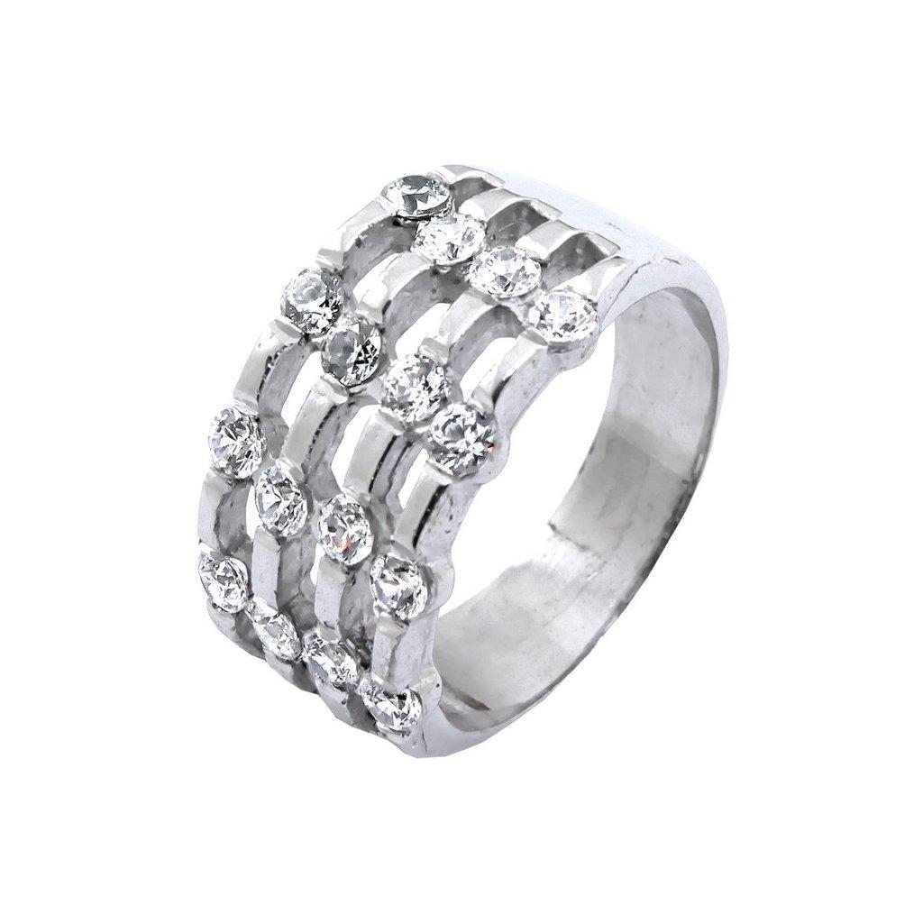 2215 B X výrazný dámsky prsteň