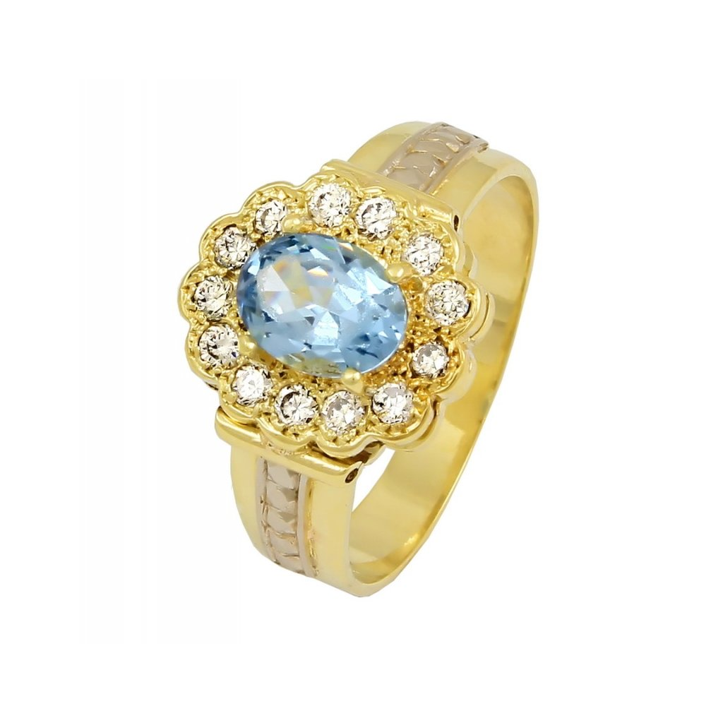 Zlatý prsteň 2286/Z/BX