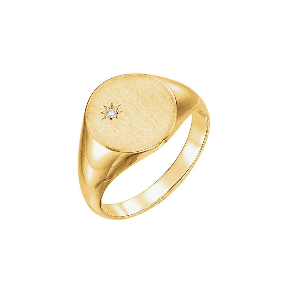 pečatný prsteň zo zlata 9833z