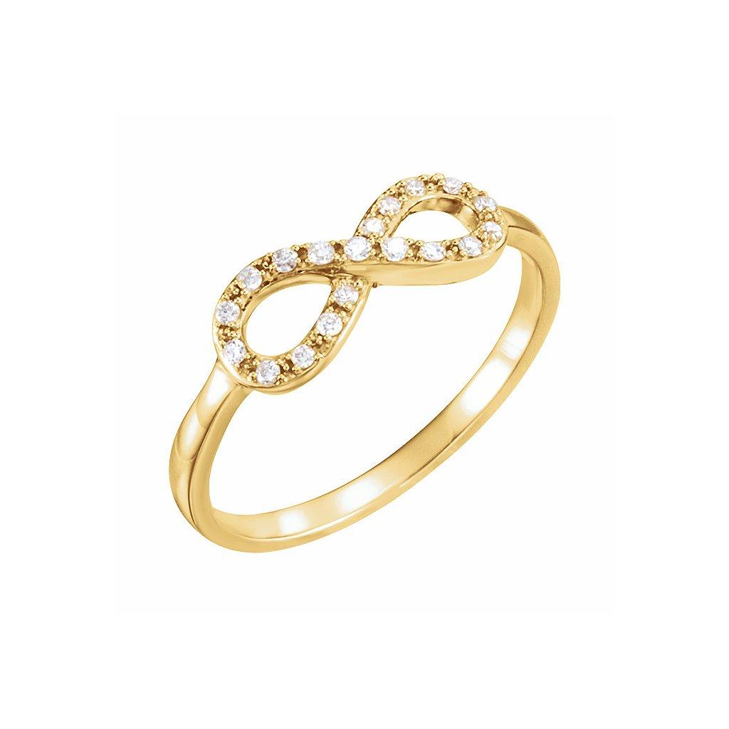 651088z prsteň s nekonečnom