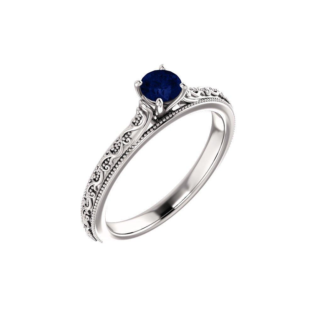 prsteň z bieleho zlata 123063