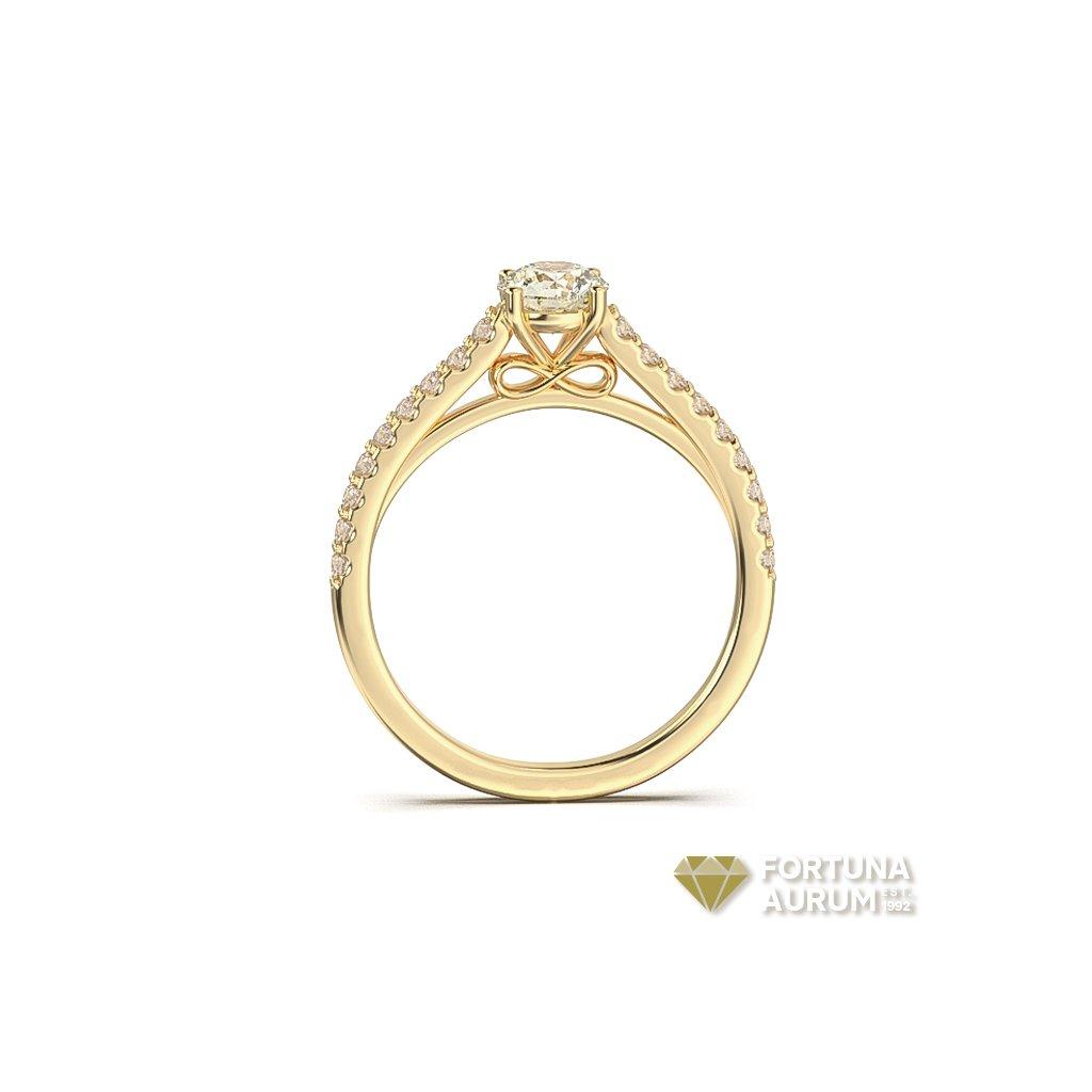 dámsky zlatý prsteň 22156/Z