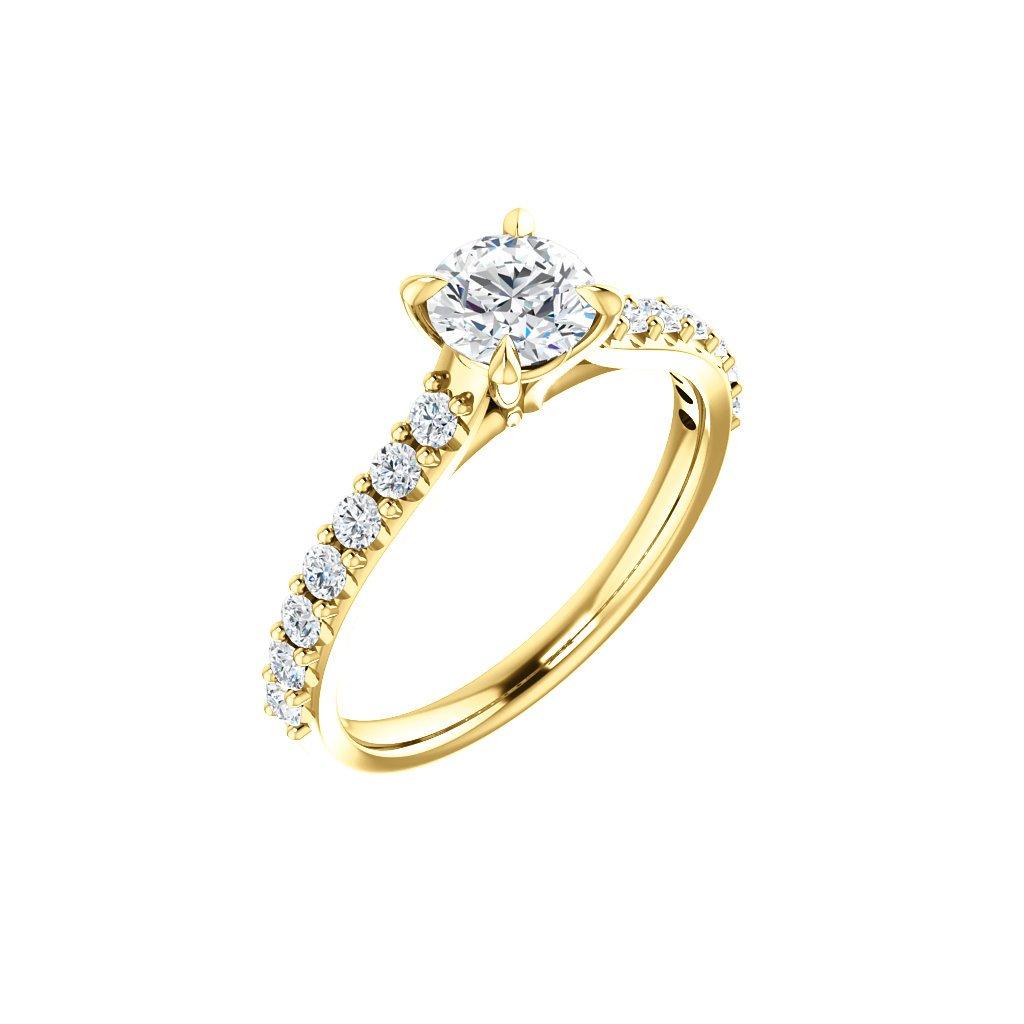 zlatý prsteň so zirkónmi 123651 Z X 1