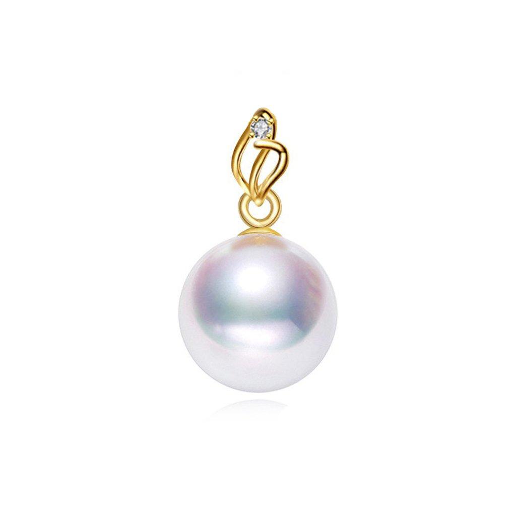 zlatý prívesok s perlou 2437