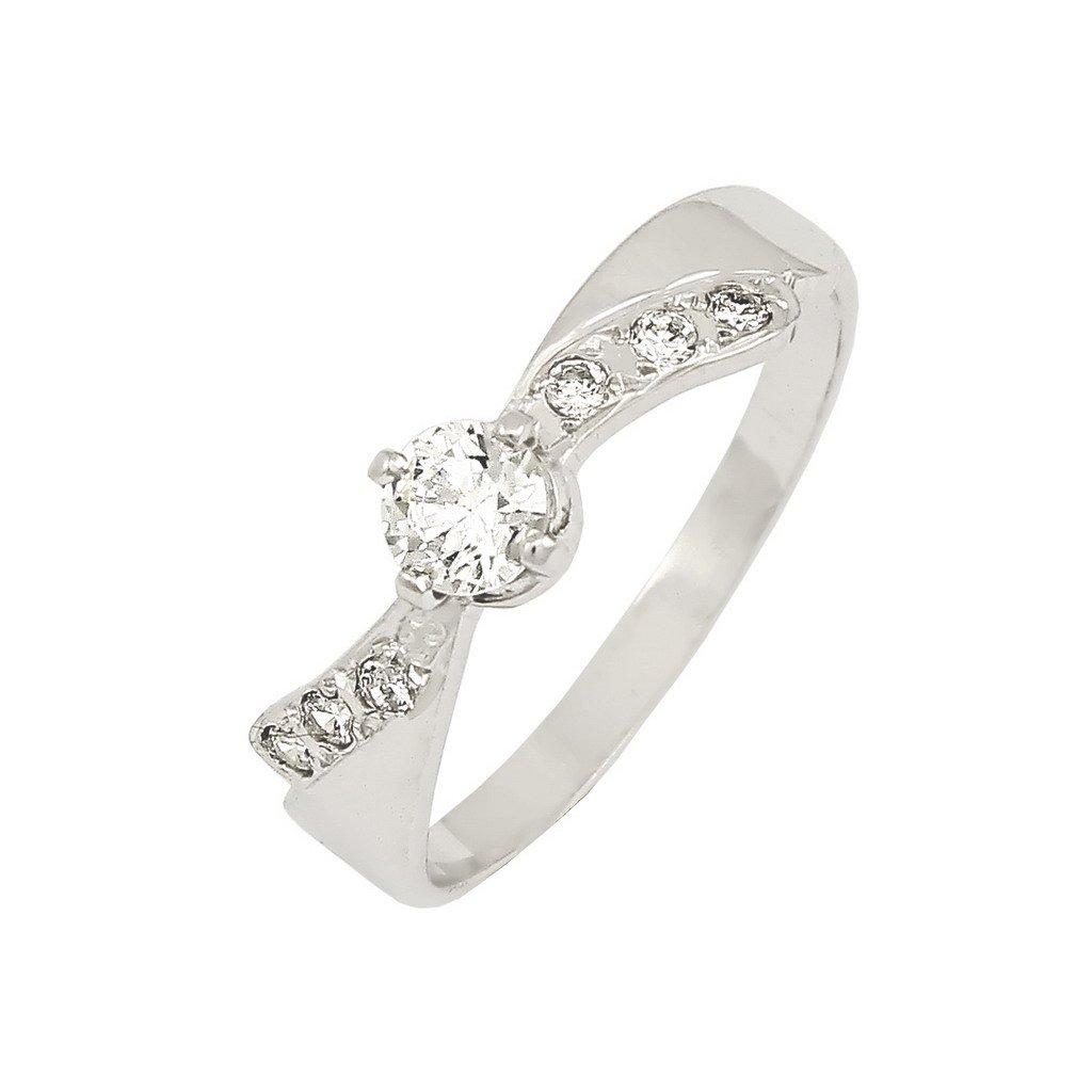 Zásnubný prsteň s briliantami 2201BB
