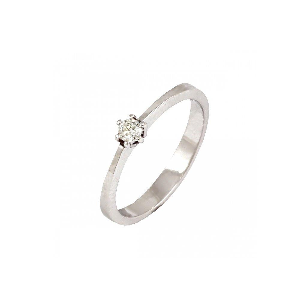 lacný briliantový prsteň