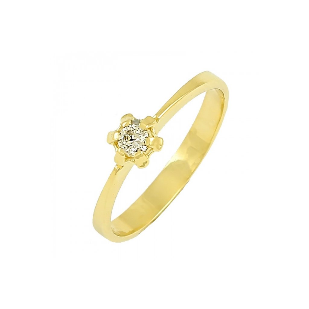 Zlatý prsteň 22106/Z/X