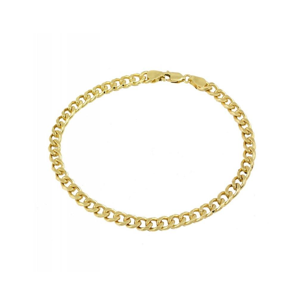Náramok zo žltého zlata pancier 2507/1Z