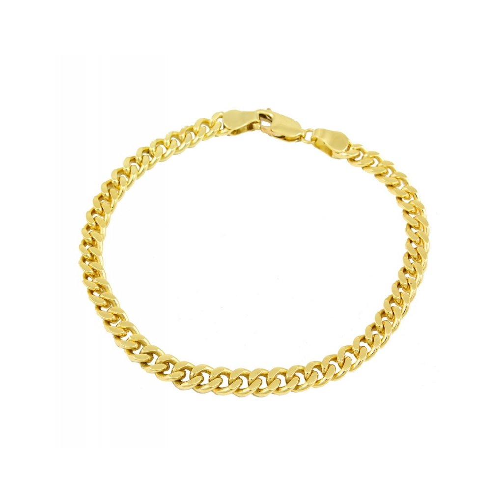 Pánsky náramok zo žltého zlata pancier 2507/1.5Z