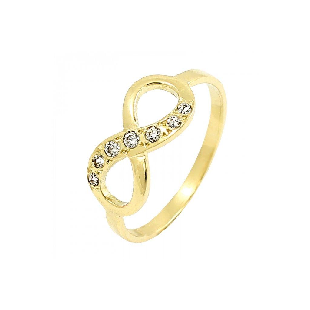 zlatý prsteň nekonečno 22119