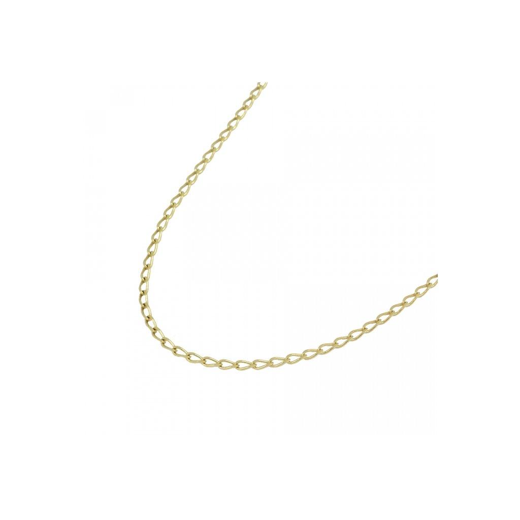 Retiazka zo žlteho zlata dlhý pancier 2606Z04
