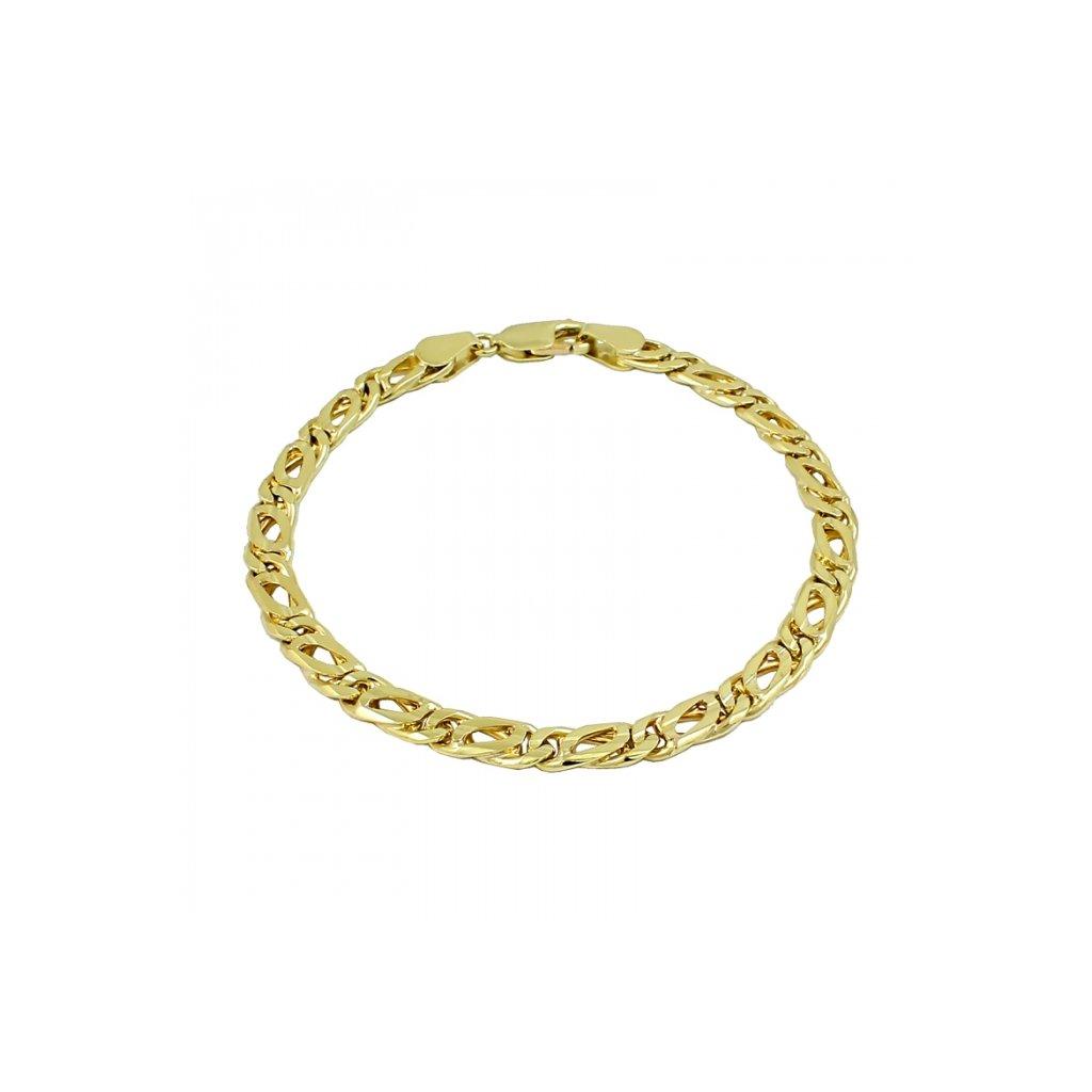 Pánsky zlatý náramok 2574Z