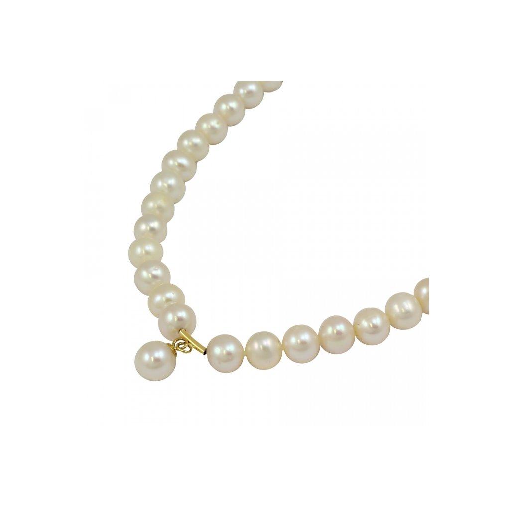 Zlata perlová retiazka 2676ZPX