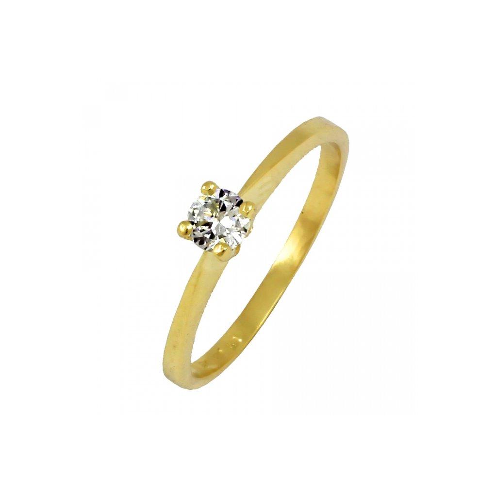 Zlatý prsteň 22107/Z/X