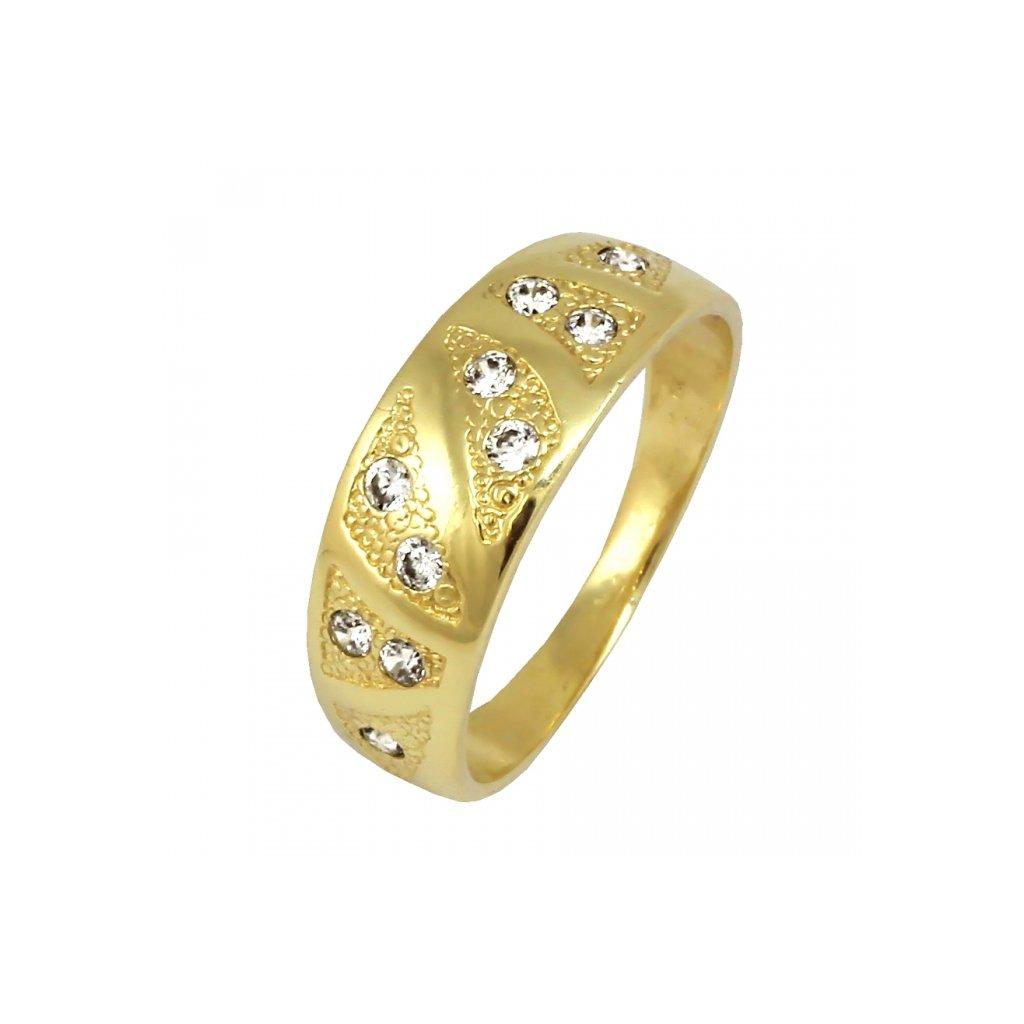 Zlatý prsteň 22129/Z/X