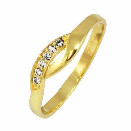 Zlatý prsteň 22135/Z/X