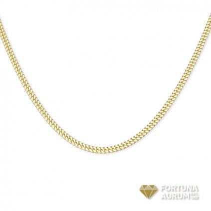 Zlata retiazka pancier 2607Z