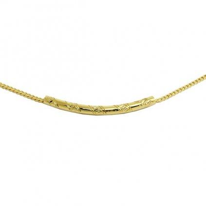 Pekná zlatá retiazka 2694Z