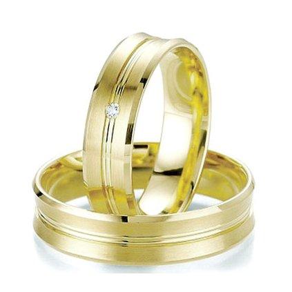 Obrúčky zo žltého zlata 2014064/Z