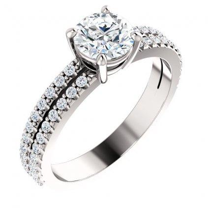 71588 prsteň z bieleho zlata