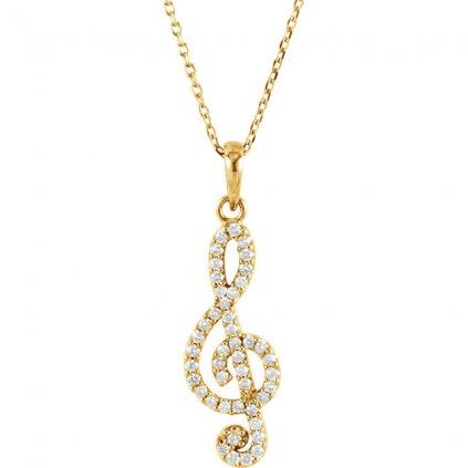 diamantový prívesok 85841