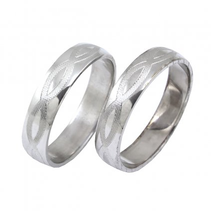 2014020 gravírované snubné prstene