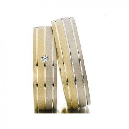 elegantné svadobné obrúčky zo zlata
