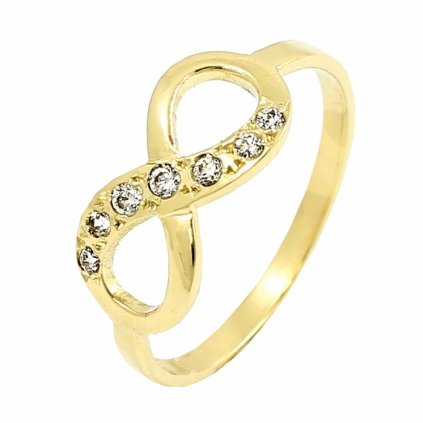 Zlatý briliantový prsteň 22119B/Z/X