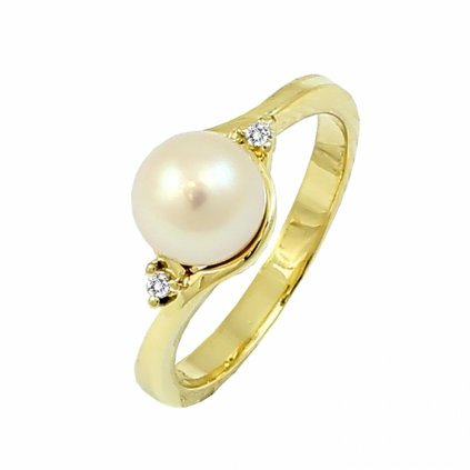 Zlatý prsteň 22121/Z/PwX