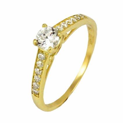 Zlatý prsteň 22128/Z/X