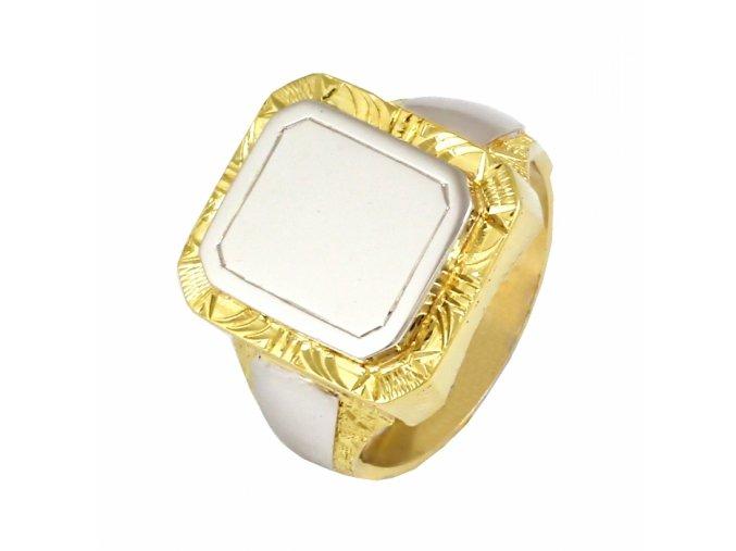 Zlatý prsteň 22140/ZB