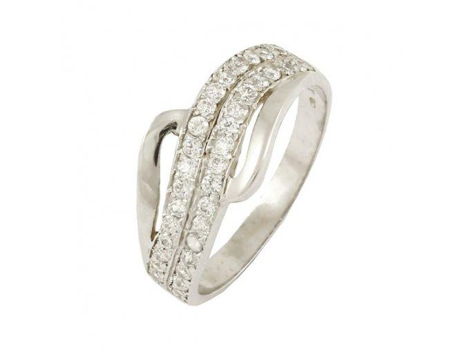 Zlatý prsteň 15291B