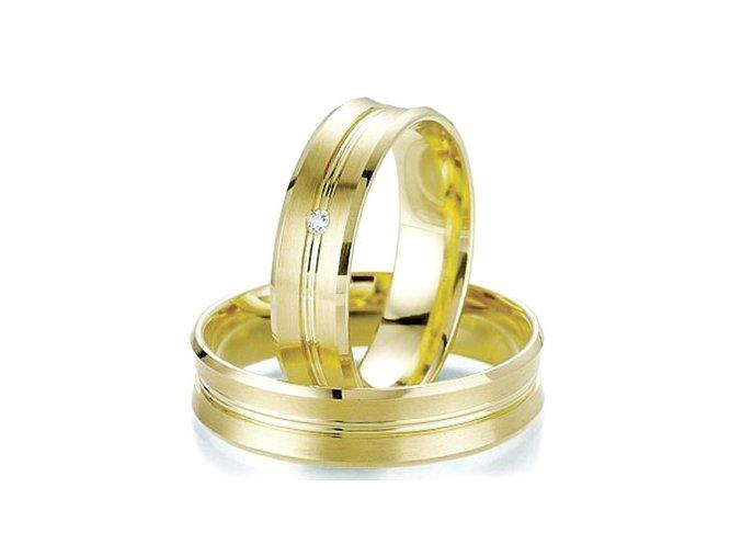 Obrúčky zo žltého zlata 2014061/Z