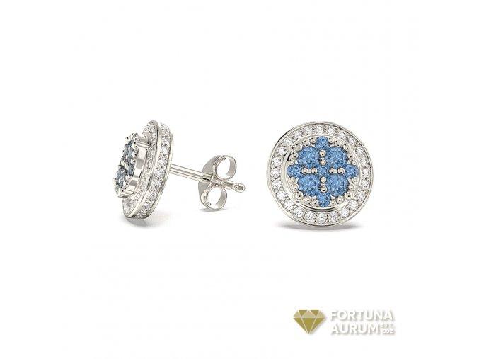Diamantové náušnice 651468